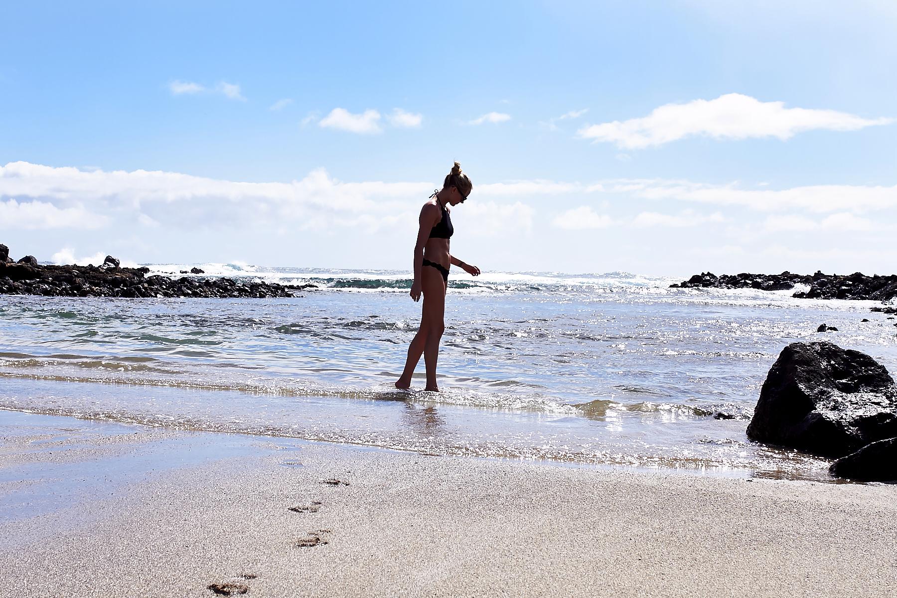Marysia Swim Mott Bikini Top, Makapu'u Tide Pools, Hawaii, Oahu