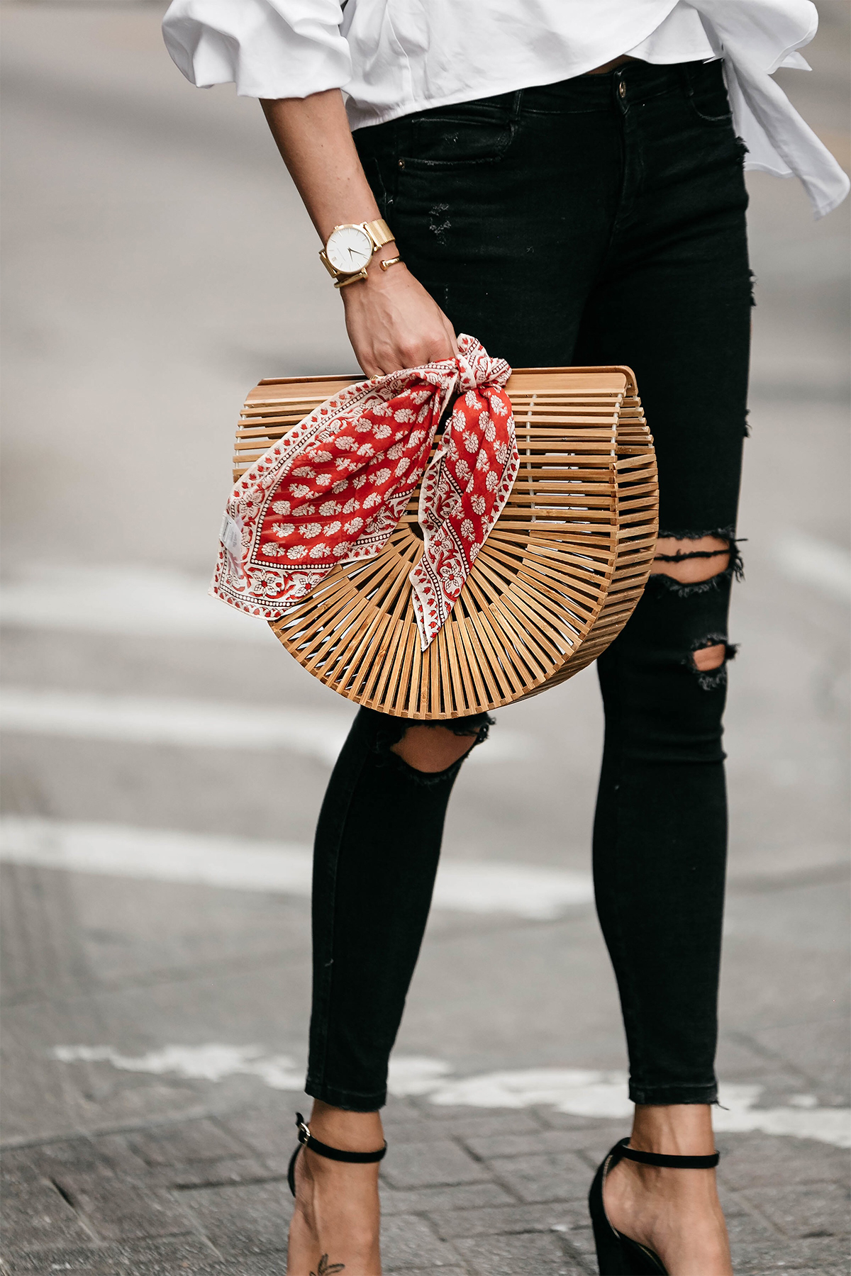 How To Style A Straw Bag This Season Fashion Jackson