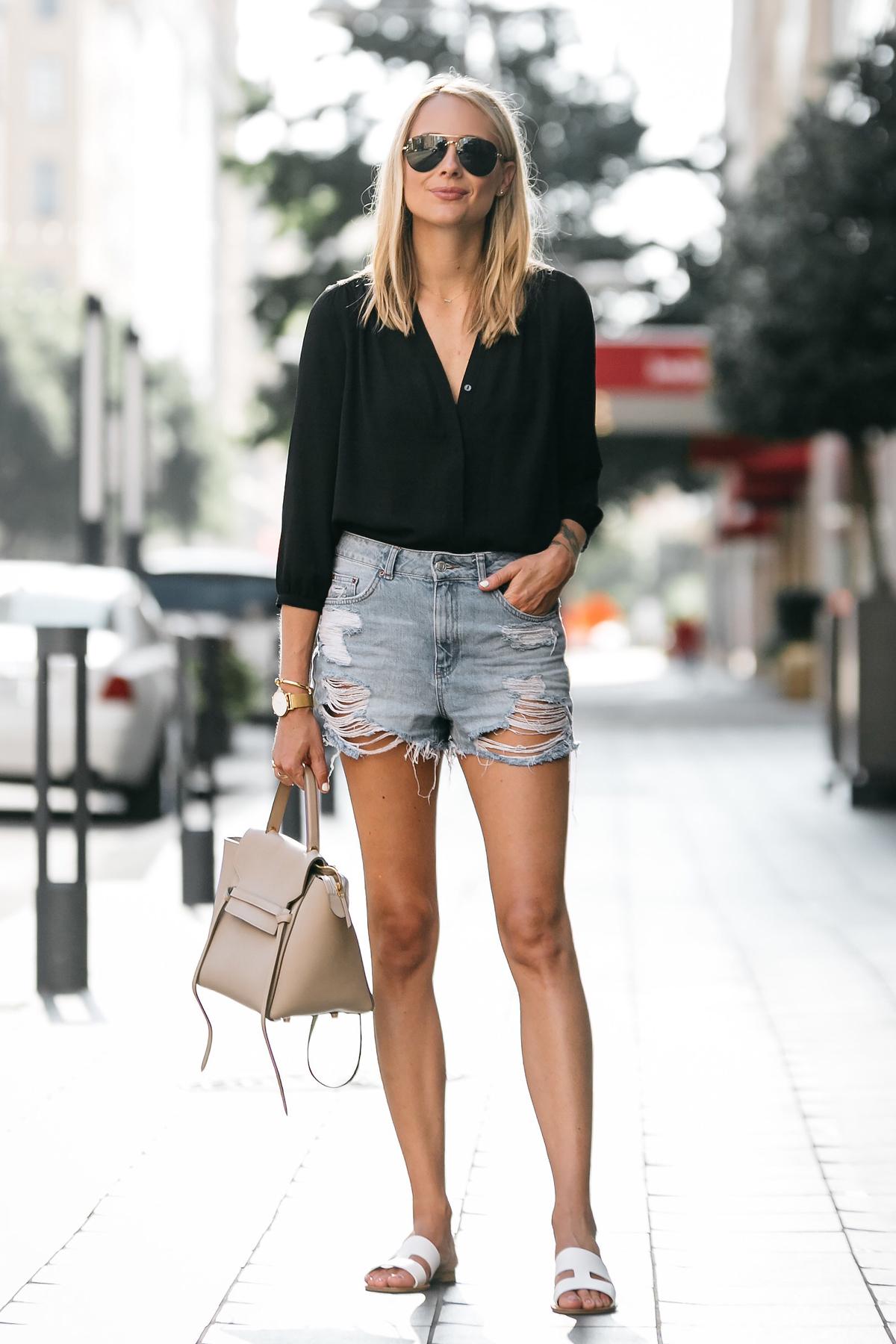 Obleka mame Jean Shorts-2851