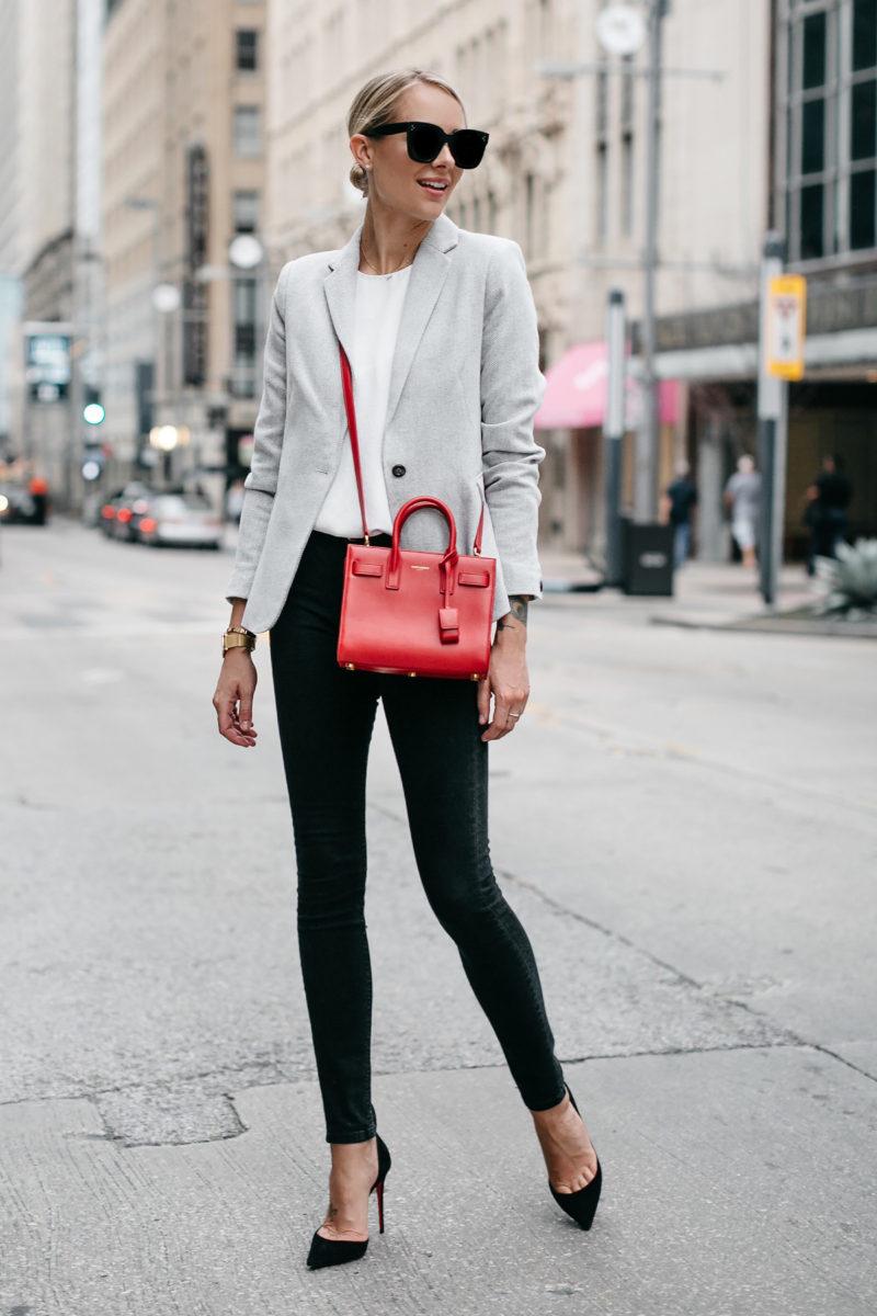 the perfect grey blazer to wear this season fashion jackson. Black Bedroom Furniture Sets. Home Design Ideas