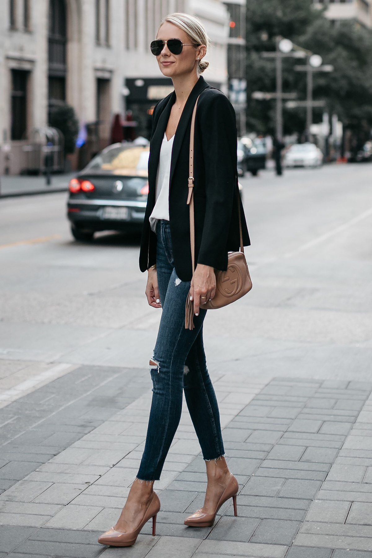 price reduced new style nice cheap A Chic Black Blazer Outfit | Fashion Jackson