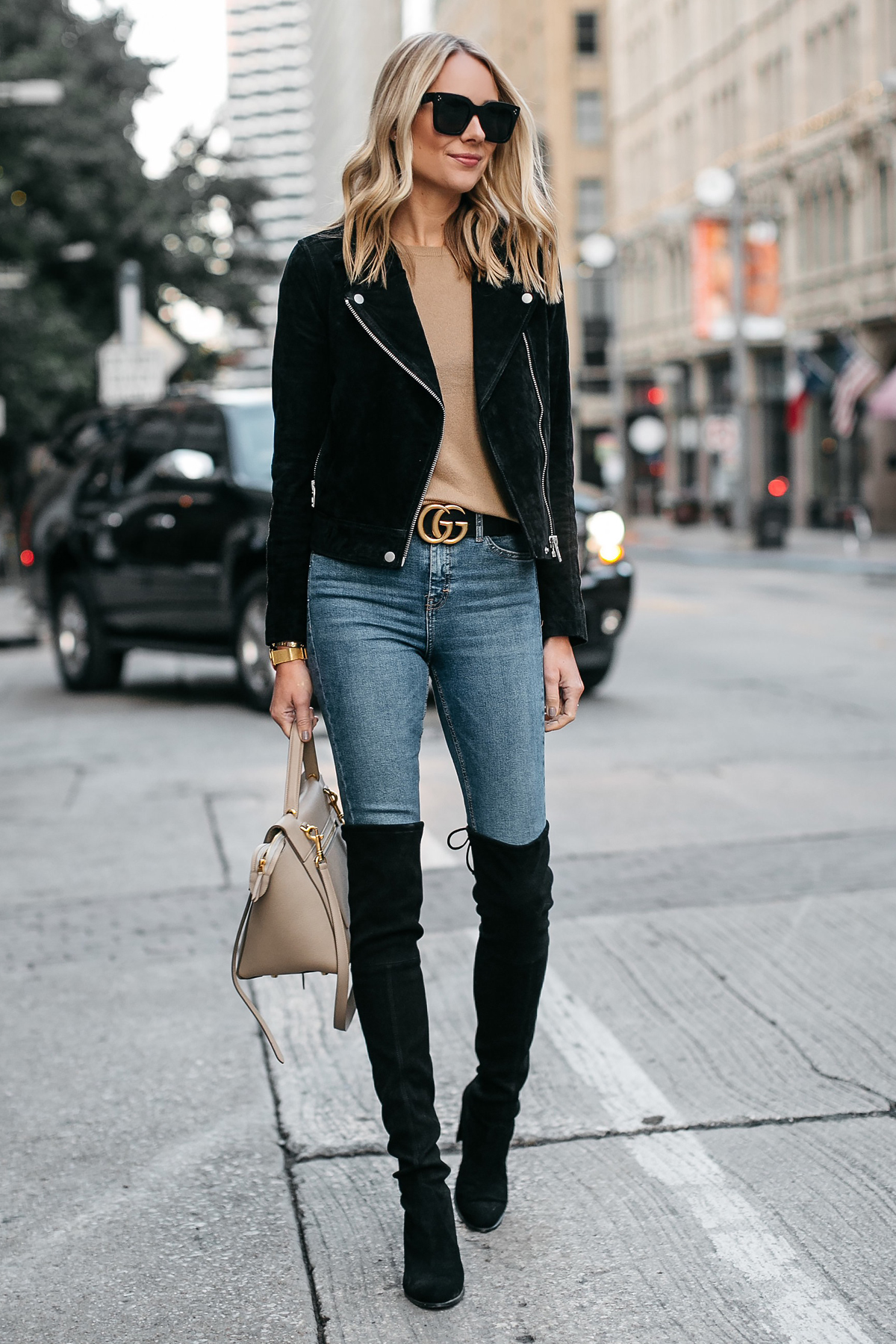 Over The Knee Boots Jeans