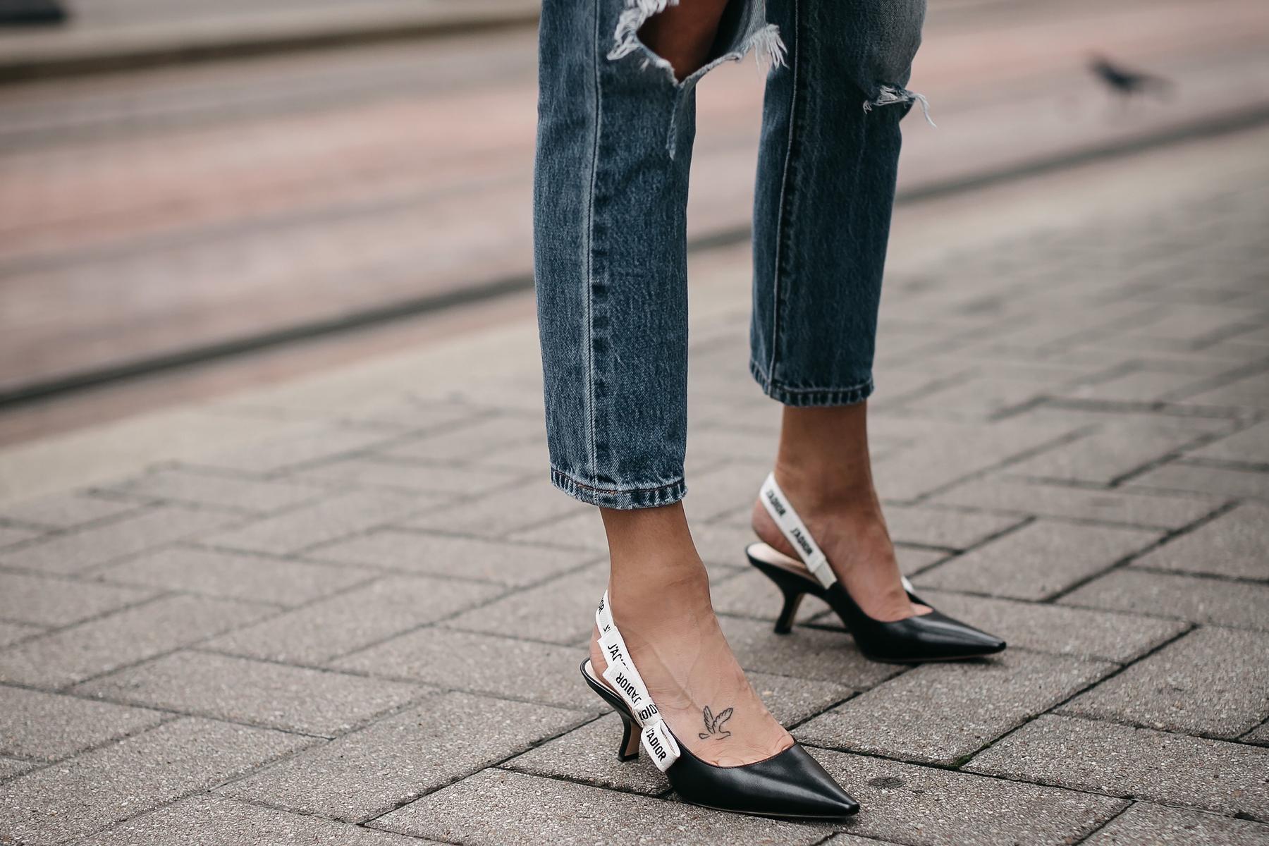 Dior J'Dior Slingbacks Fashion Jackson Dallas Blogger Fashion Blogger Street Style