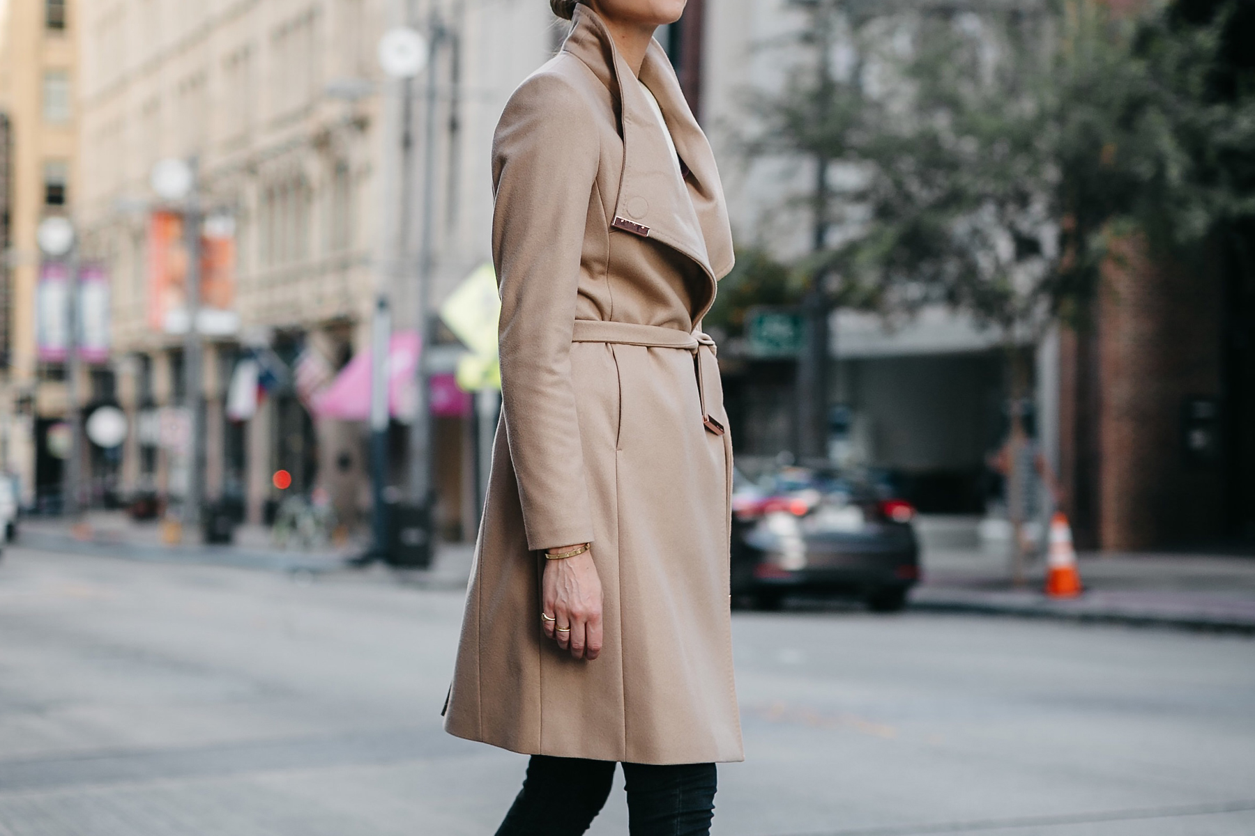 Tan Wrap Coat Fashion Jackson Dallas Blogger Fashion Blogger Street Style