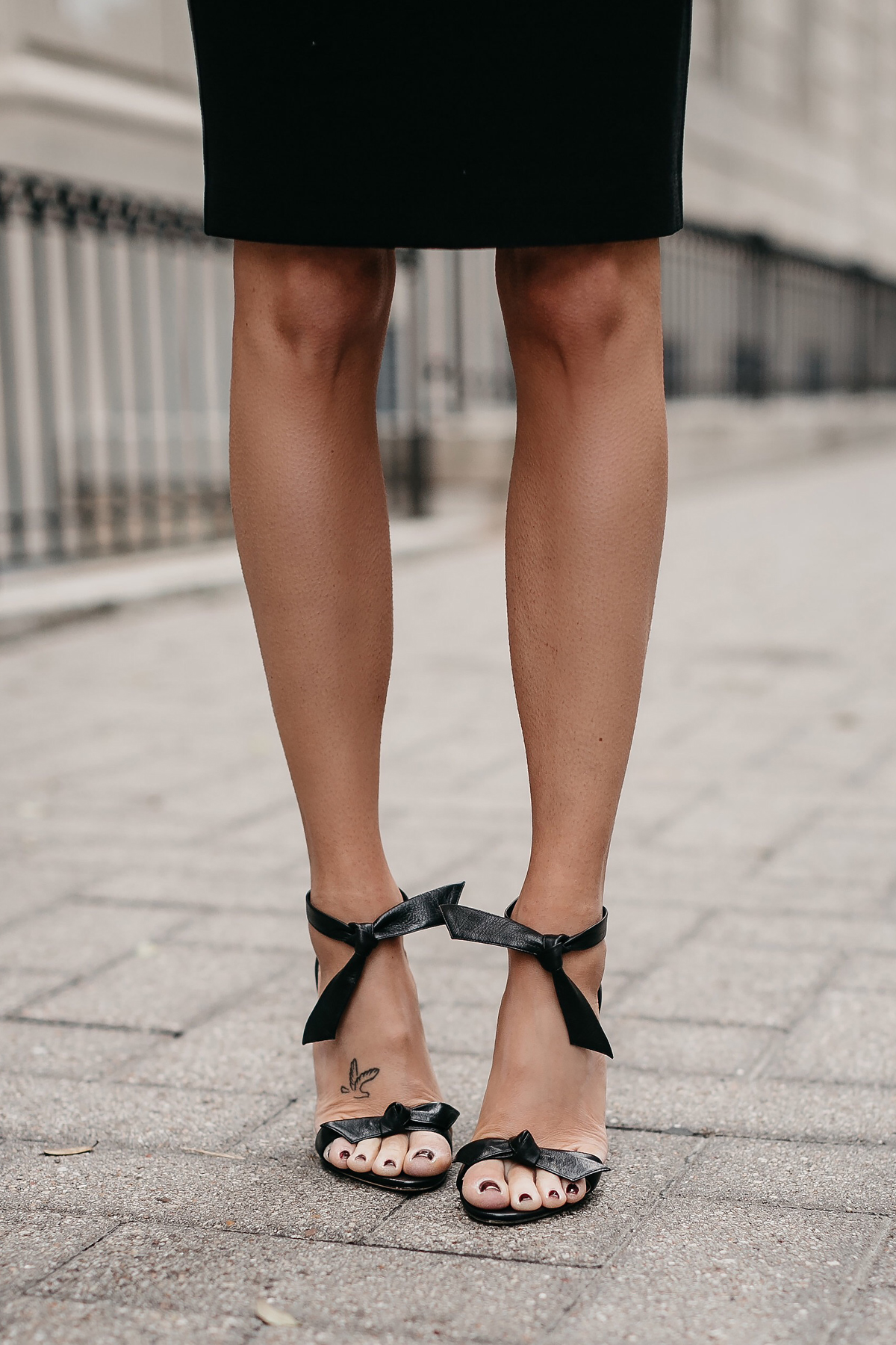 Alexandre Birman Clarita Ankle Tie Sandals Black Fashion Jackson Dallas Blogger Fashion Blogger Street Style