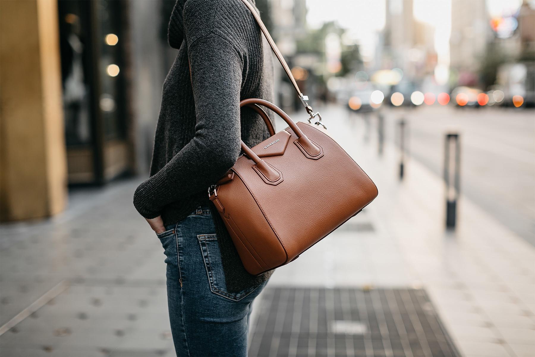 Givenchy Antigona Cognac Handbag Fashion Jackson Dallas Blogger Fashion Blogger Street Style