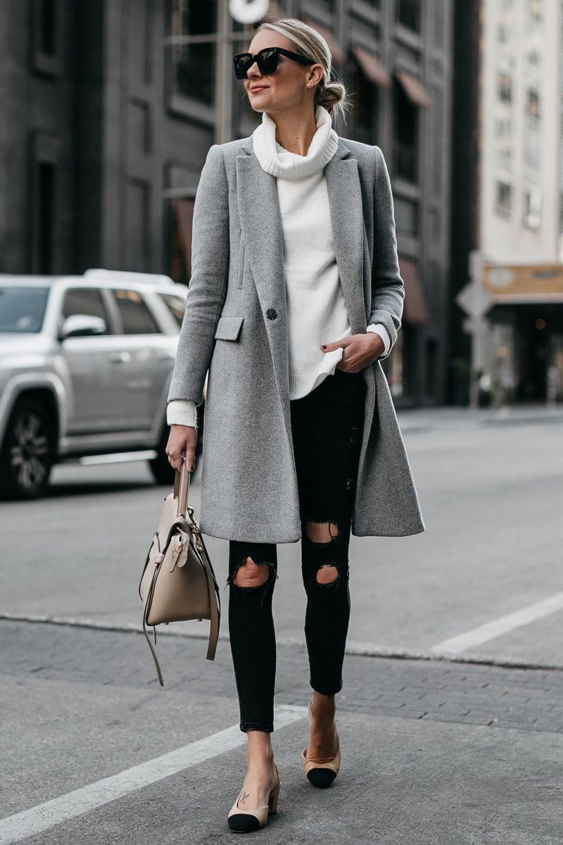 A WINTER WHITE SWEATER TO WEAR THIS SEASON | Fashion Jackson