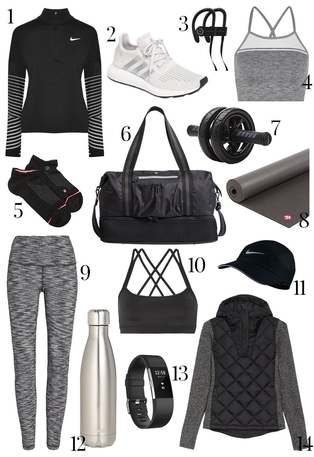 Holiday Gifts Fitness Gifts Activewear gifts