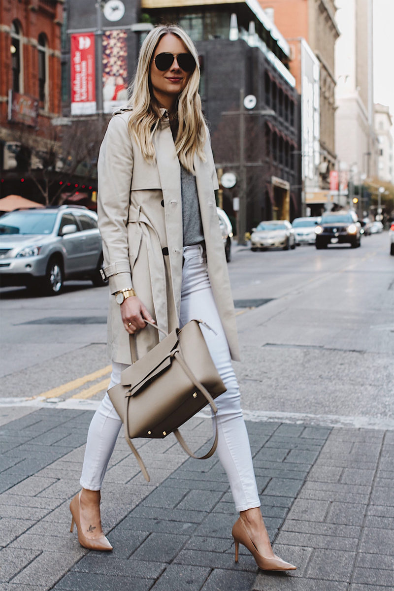 A Light Neutral Outfit for Winter | Fashion Jackson