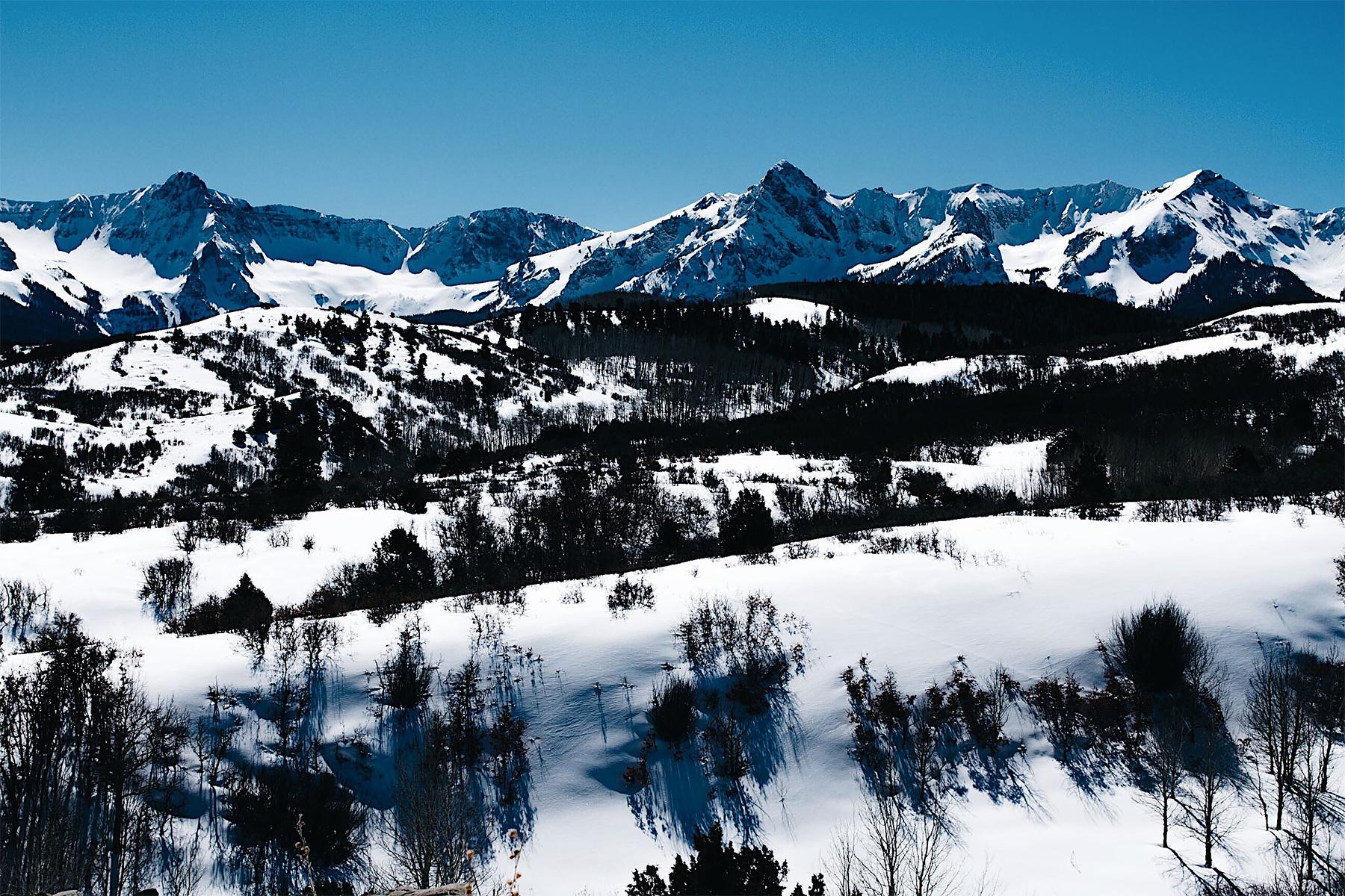Telluride CO Snow Mountains