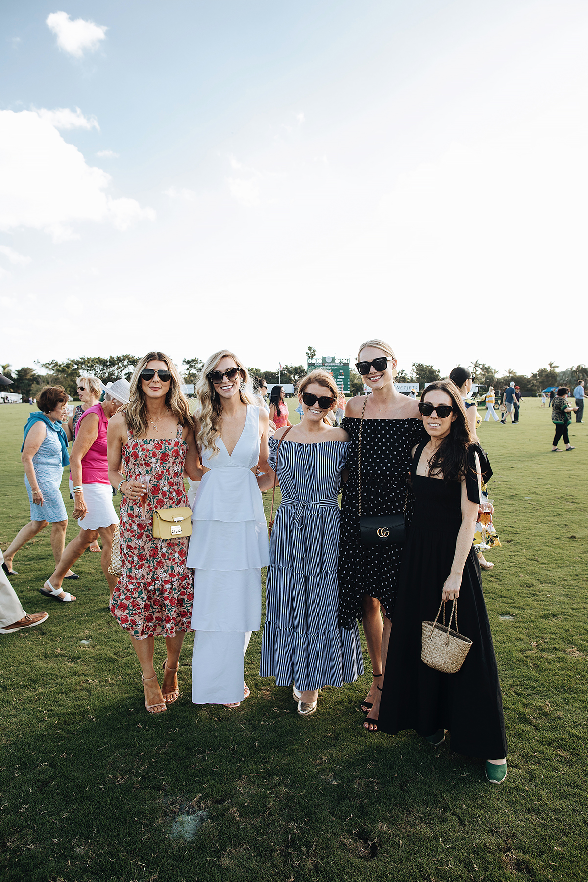 Pam Beach International Polo Match Bloggers