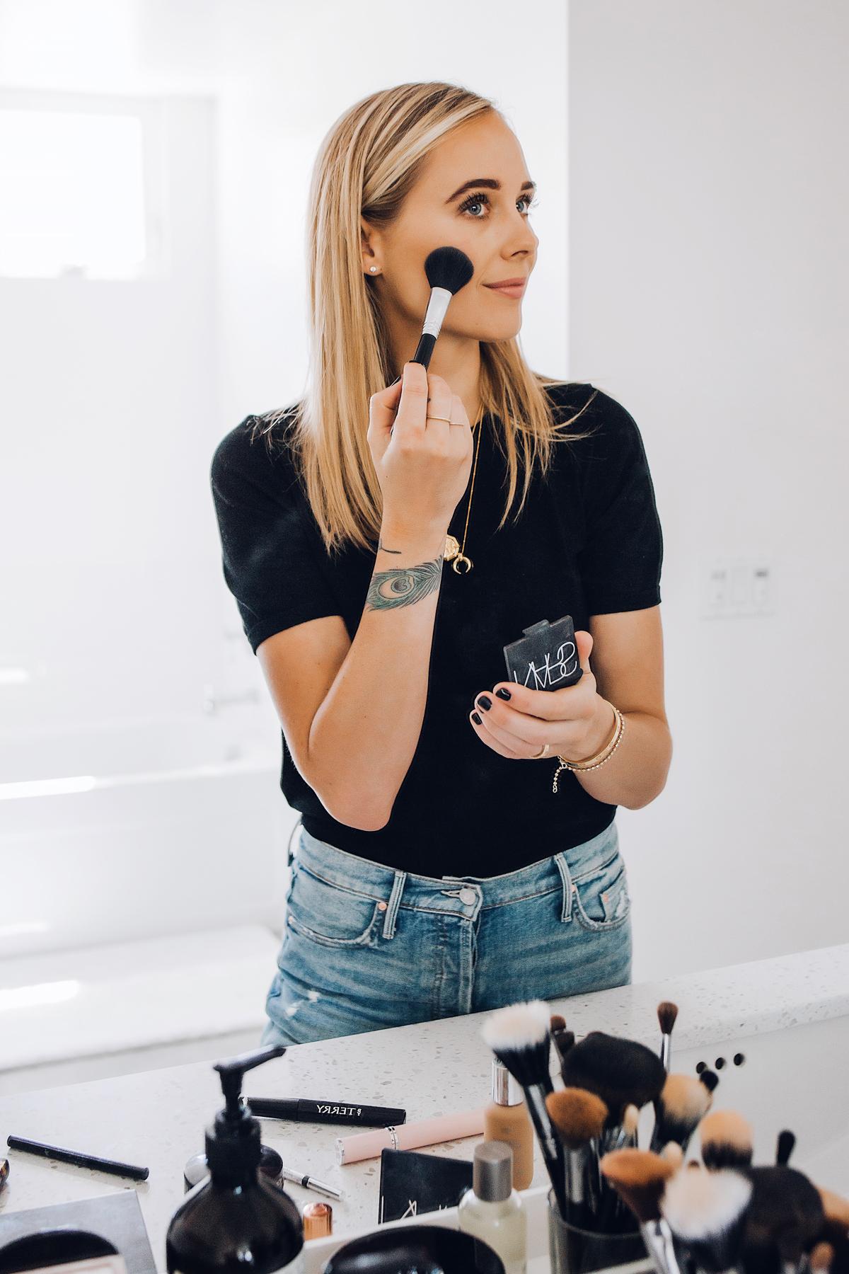 Fashion Jackson Daily Makeup Beauty Routine NARS Blush
