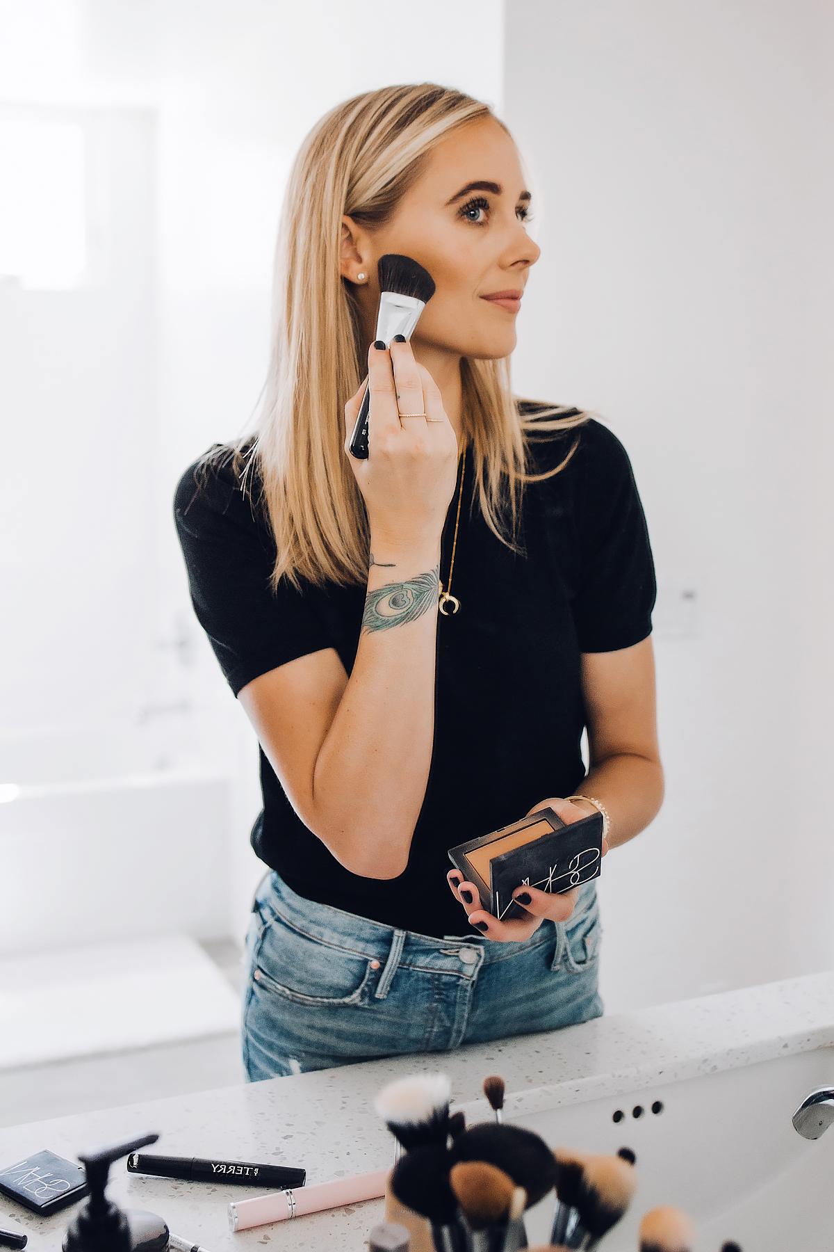 Fashion Jackson Daily Makeup Beauty Routine Nars Bronzer