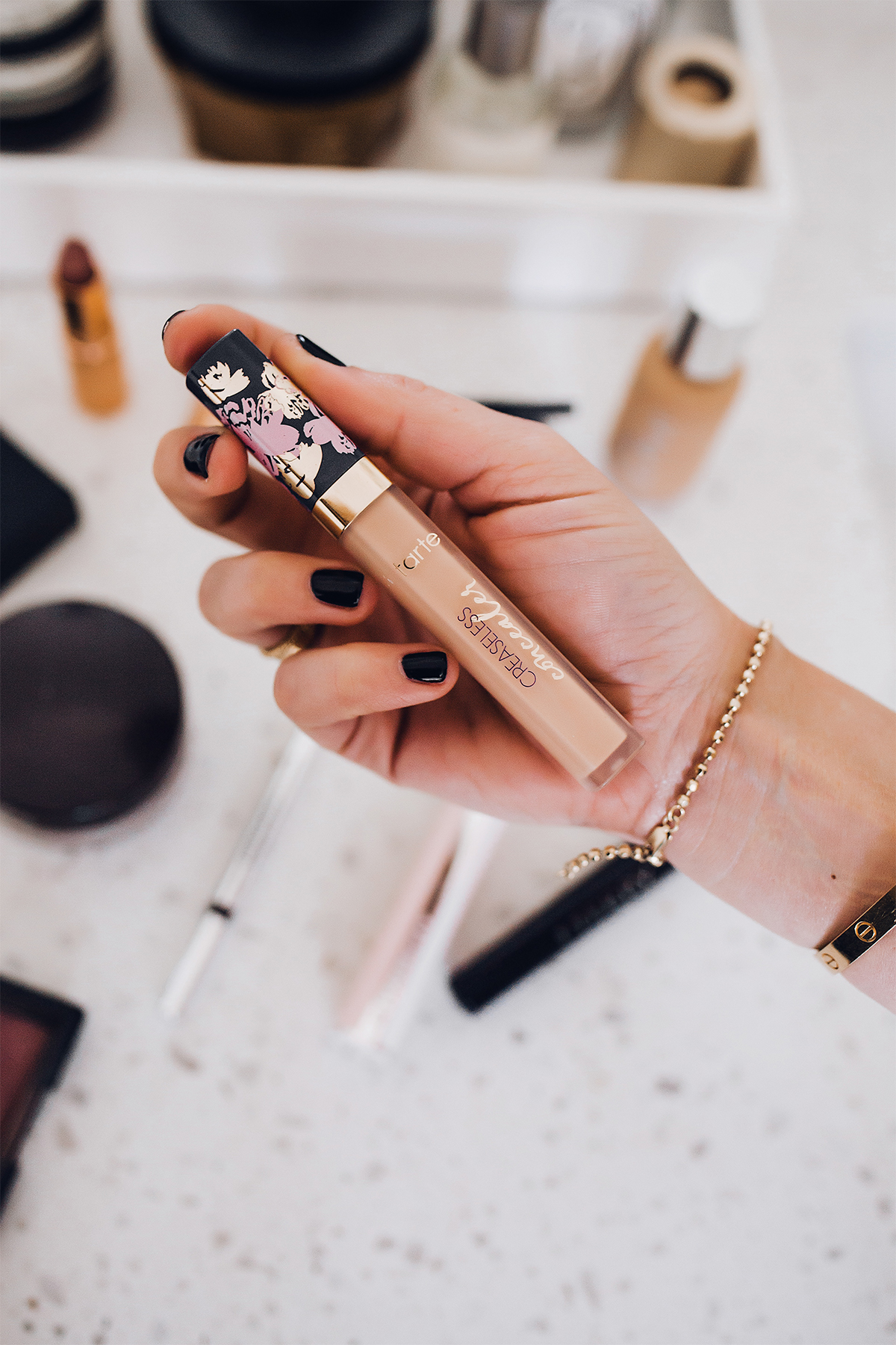 Fashion Jackson Daily Makeup Beauty Routine Tarte Creaseless Concealer