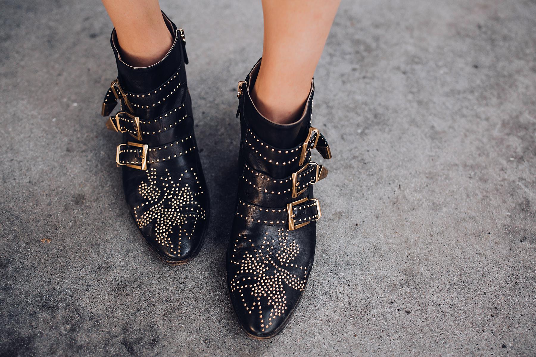 Fashion Jackson Wearing Chloe Susanna Black Booties Fashion Jackson San Diego Fashion Blogger Street Style