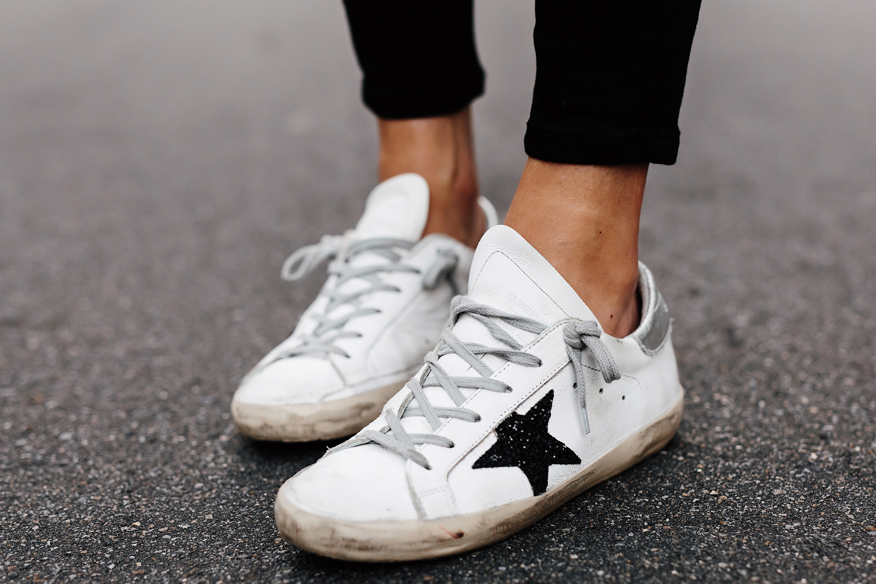 Fashion Jackson Wearing Golden Goose Deluxe Sneakers Street Style