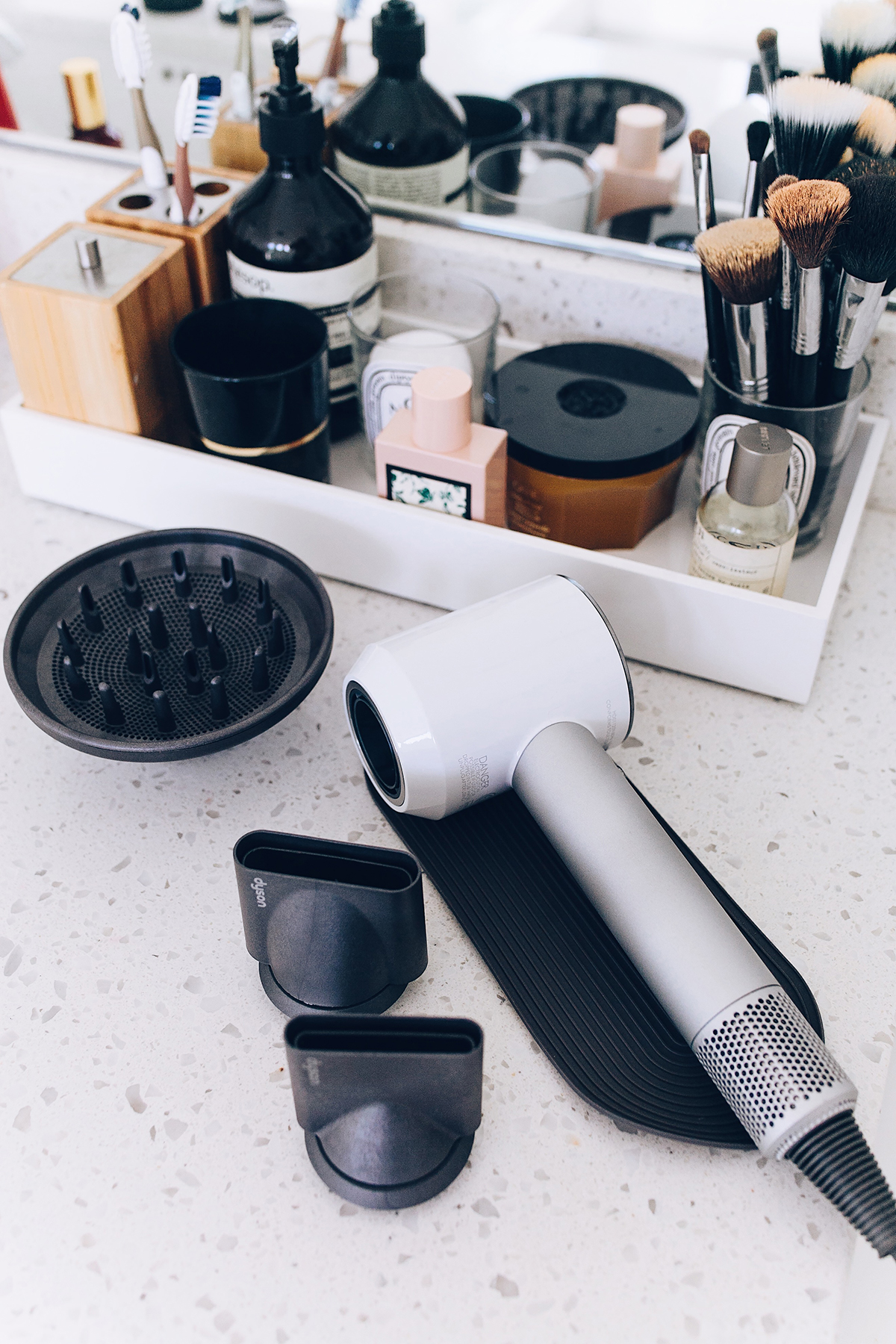 Dyson Hair Dryer with Attachments