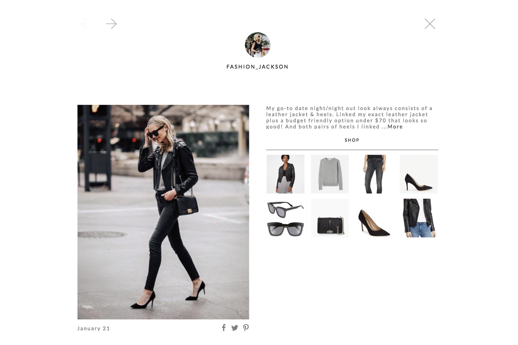 shop Fashion Jackson LTK