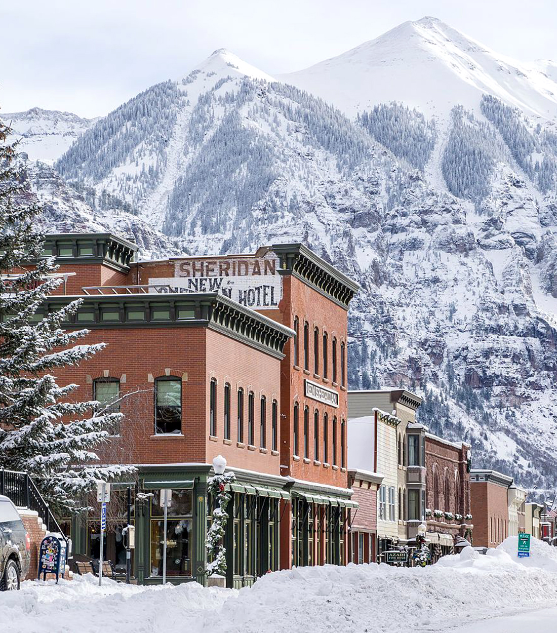 Telluride Main Street Winter