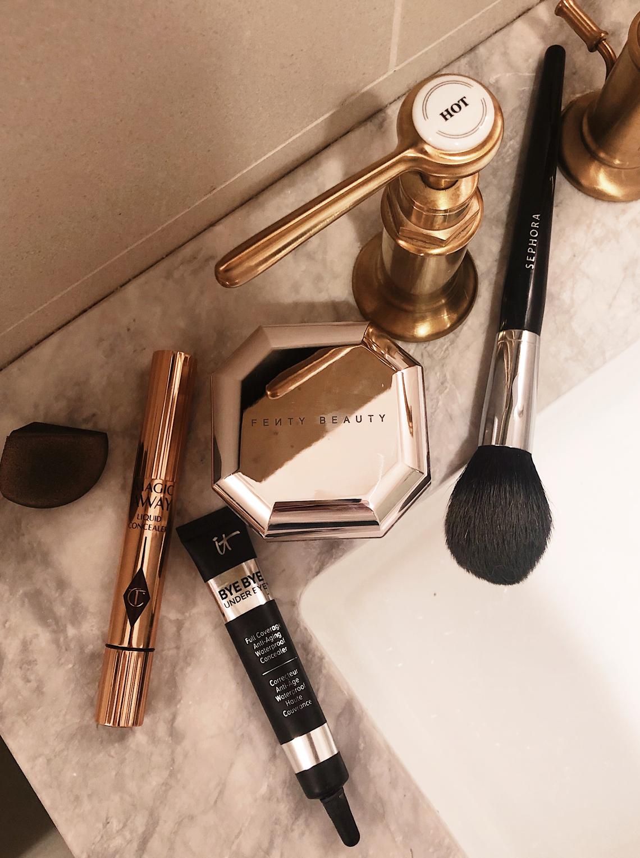 concealer makeup routine