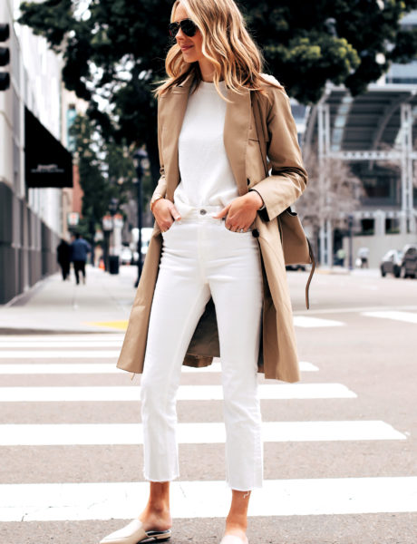 10 Ways to Wear a Trench Coat