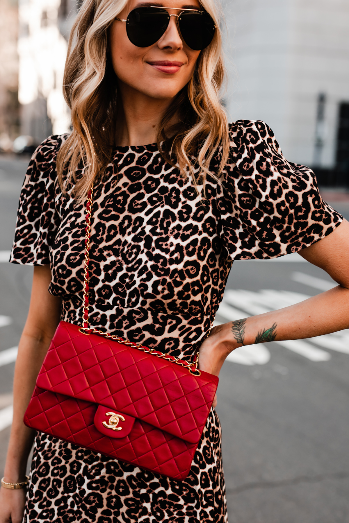 Eye Makeup For Leopard Print Dress