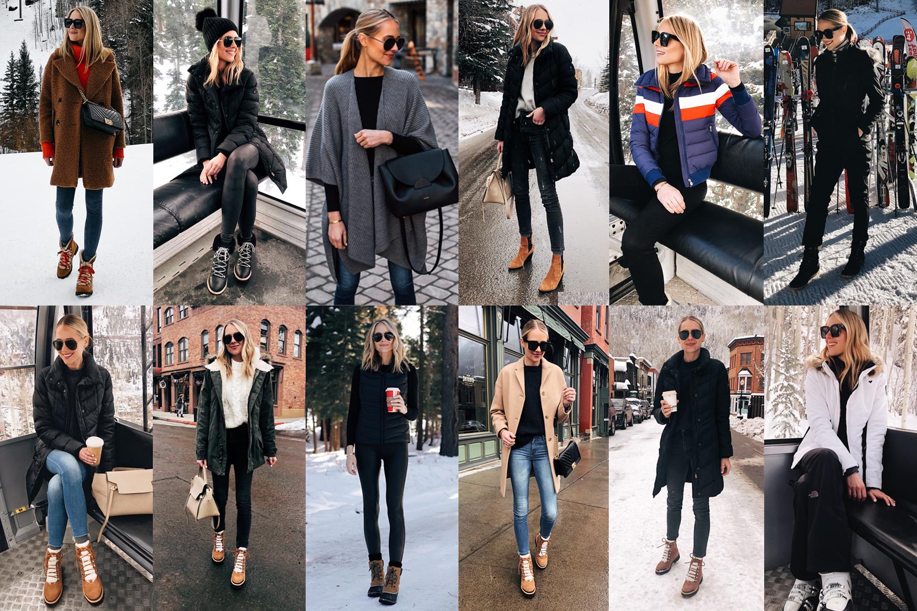 Fashion Jackson Winter Ski Trip Outfits
