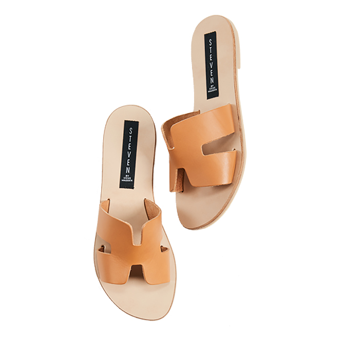 SM tan greece sandals