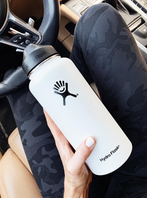 Fashion Jackson Lululemon Align Camo Pants Hydro Flask Water Bottle