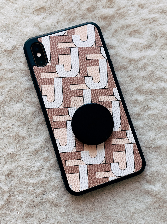 Fashion Jackson The Daily Edited Logomania iPhone Case
