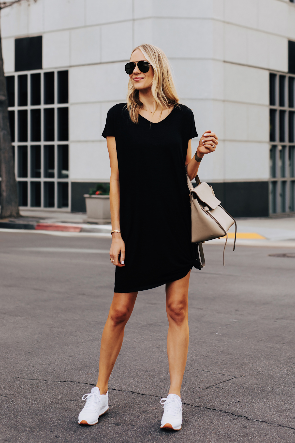 2 Stylish Ways To Wear A T Shirt Dress And Its Under 12