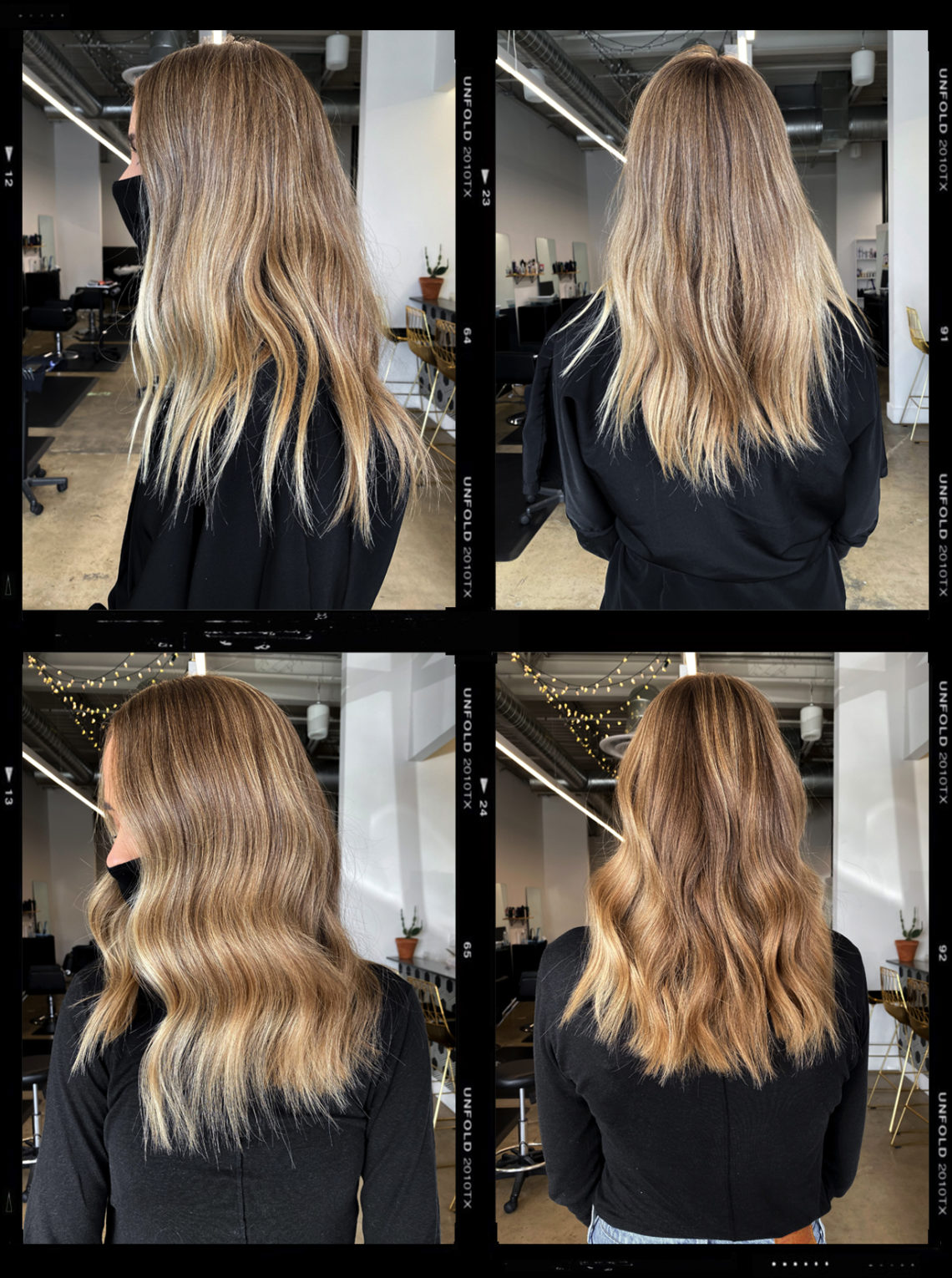 Bronde Hair Before and After