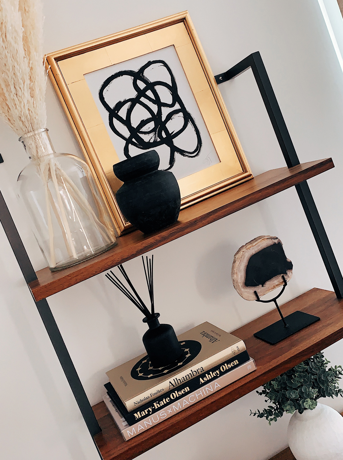 Fashion Jackson CB2 Bookshelf Home Interior
