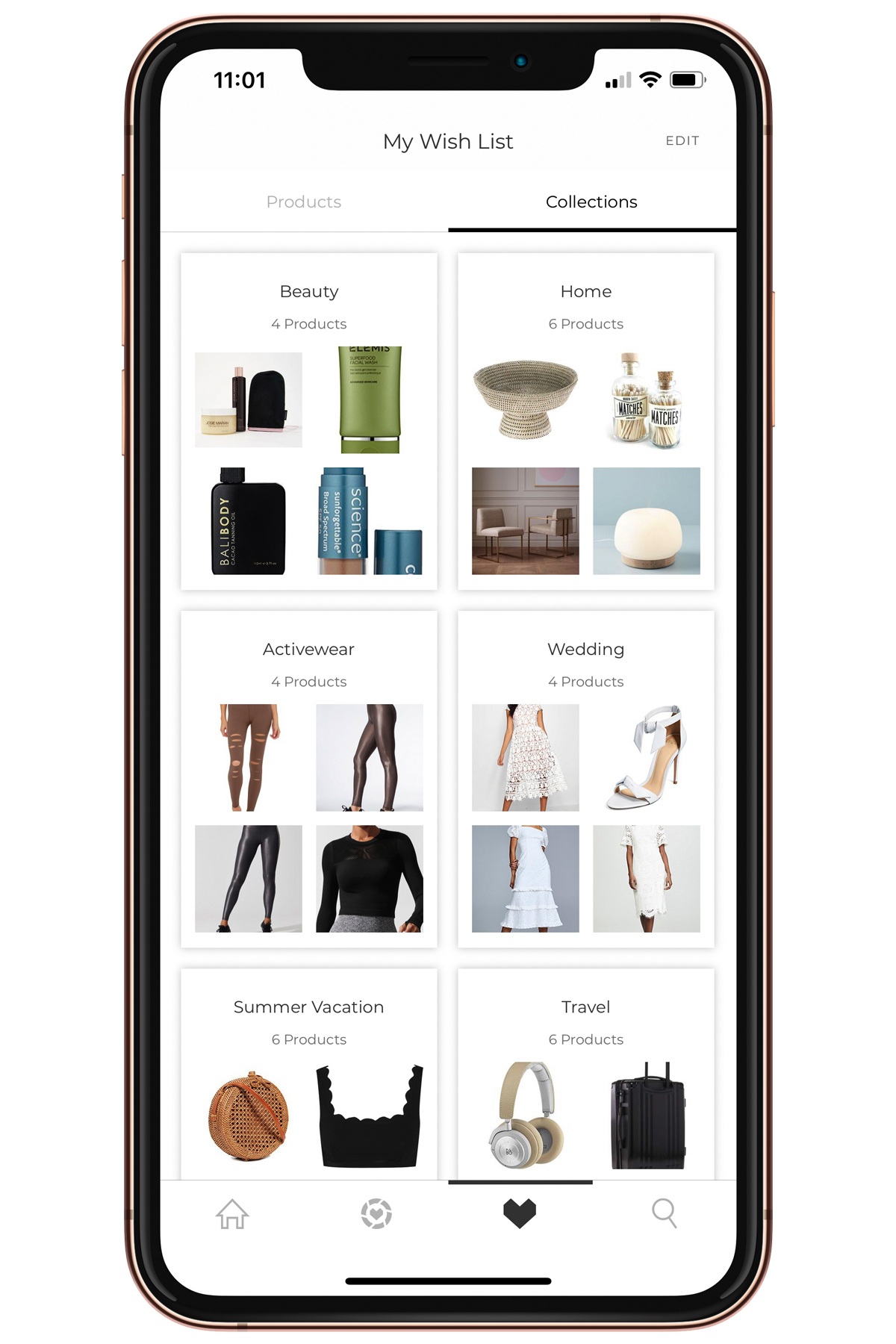 Fashion Jackson LTK App Wish List Collections