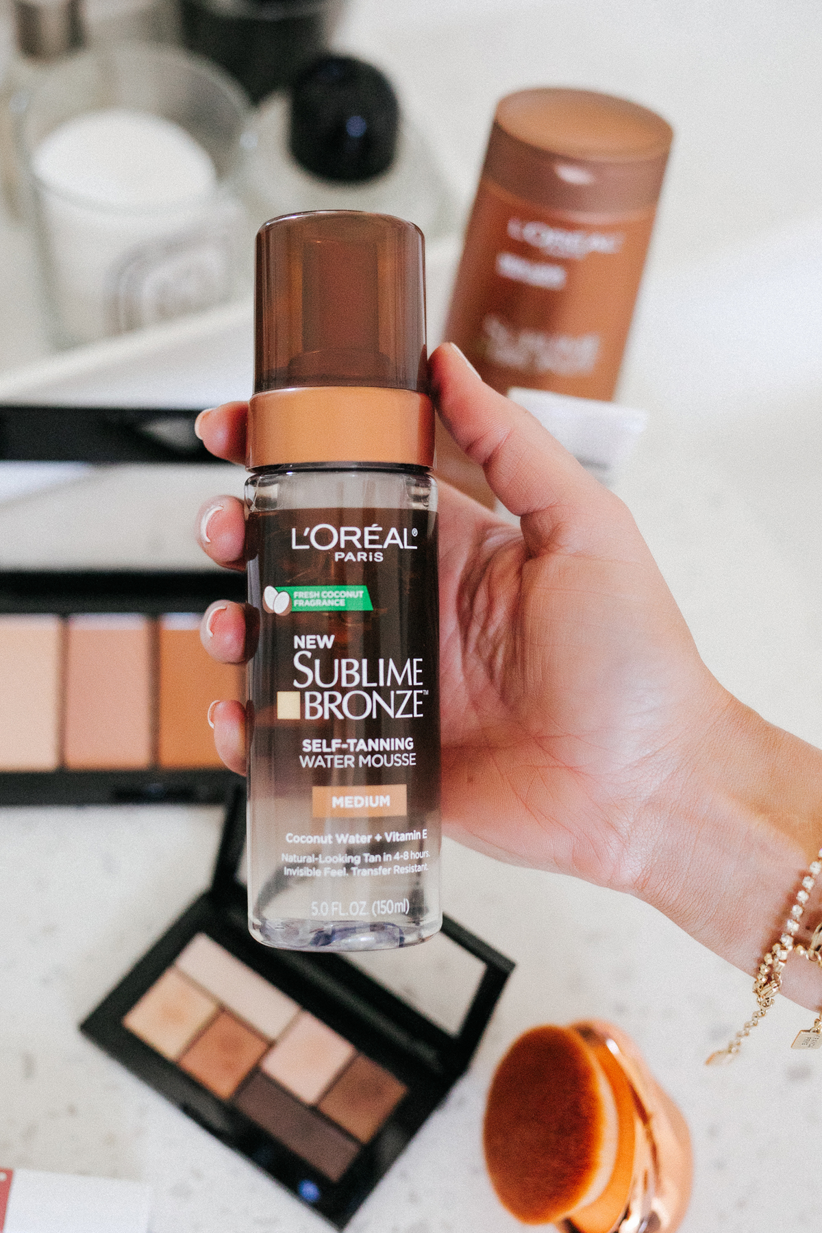 Fashion Jackson Walmart Summer Beauty Routine Loreal Sublime Bronze Self Tanner