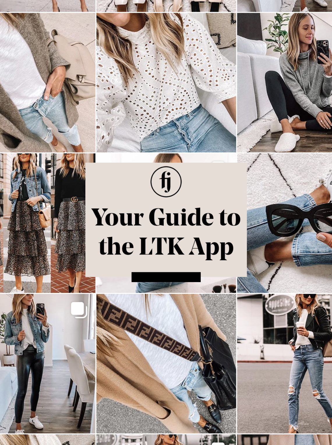 how to use the LTK app