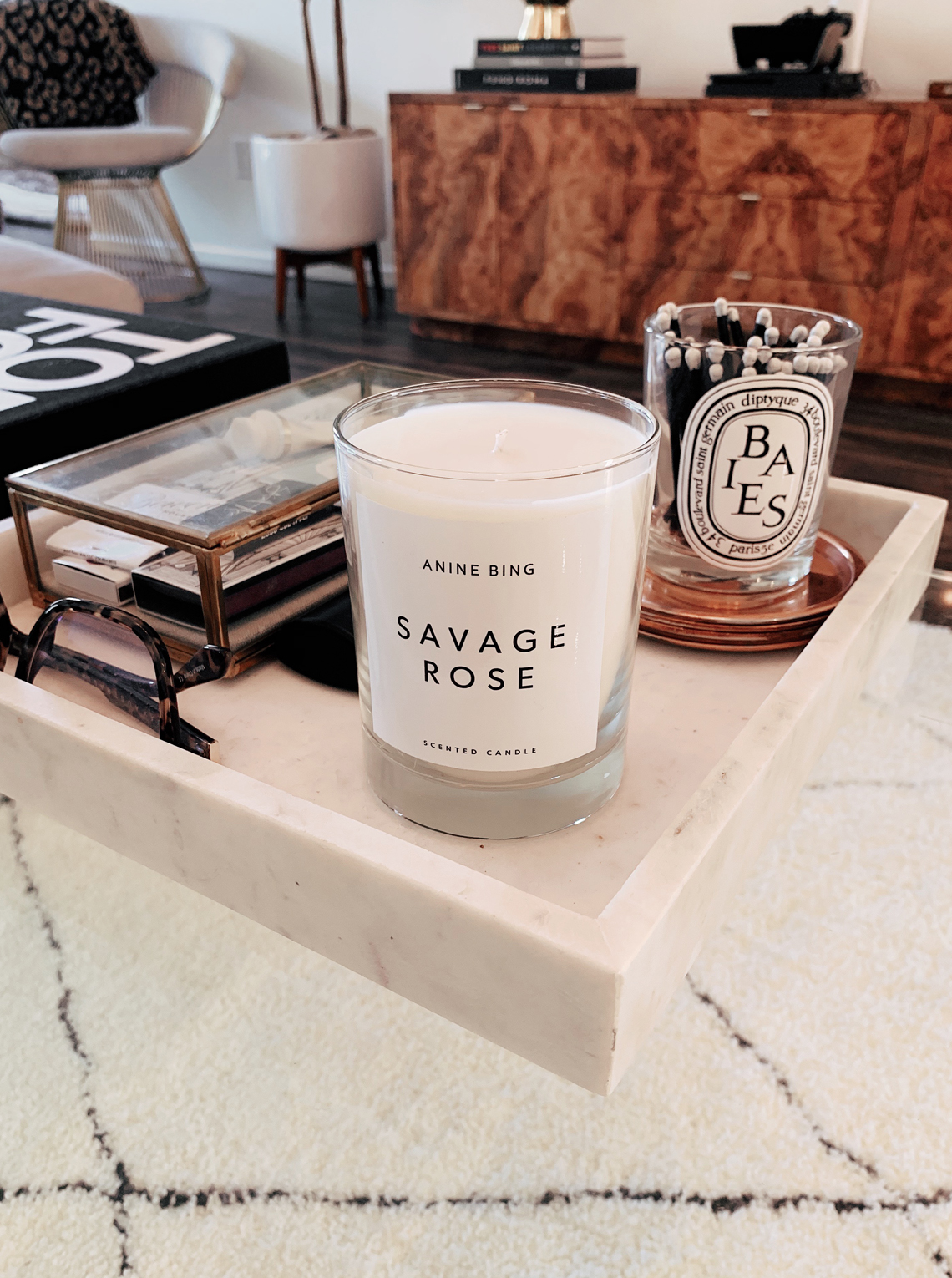 Anine Bing Savage Rose Candle