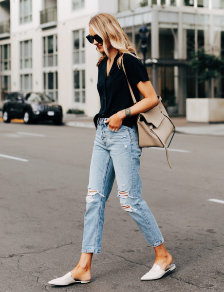My New Favorite Boyfriend Jeans from Everlane