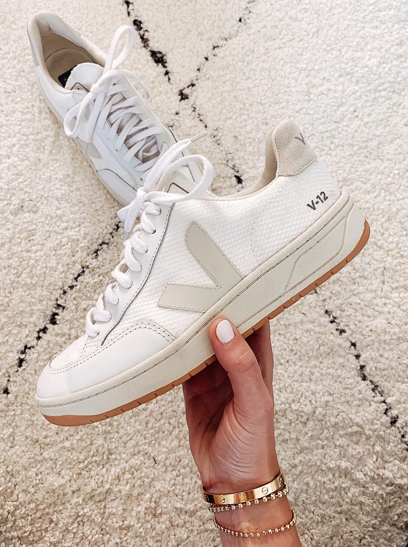 Veja V12 White Sneakers