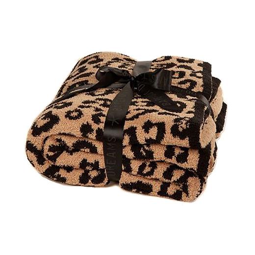 leopard BFD blanket
