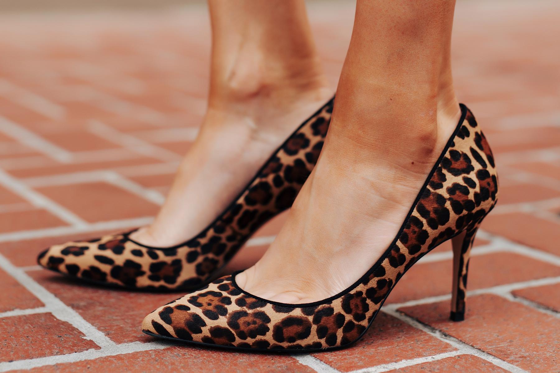 Fashion Jackson Wearing Ann Taylor Leopard Pumps
