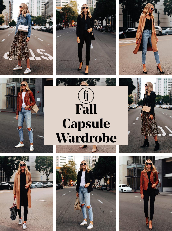 Fall Capsule Wardrobe 2019