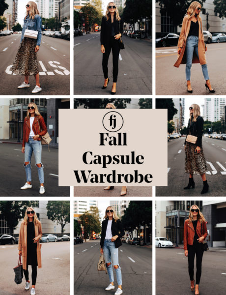 Fall Capsule Wardrobe: Key Staples to Wear this Season