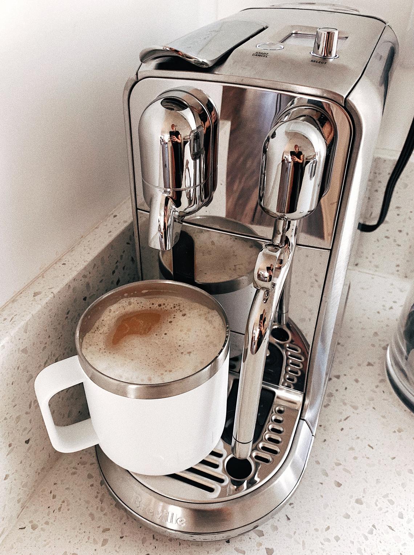 Fashion Jackson Nespresso Breville Creatista Machine White Yeti Rambler Mug