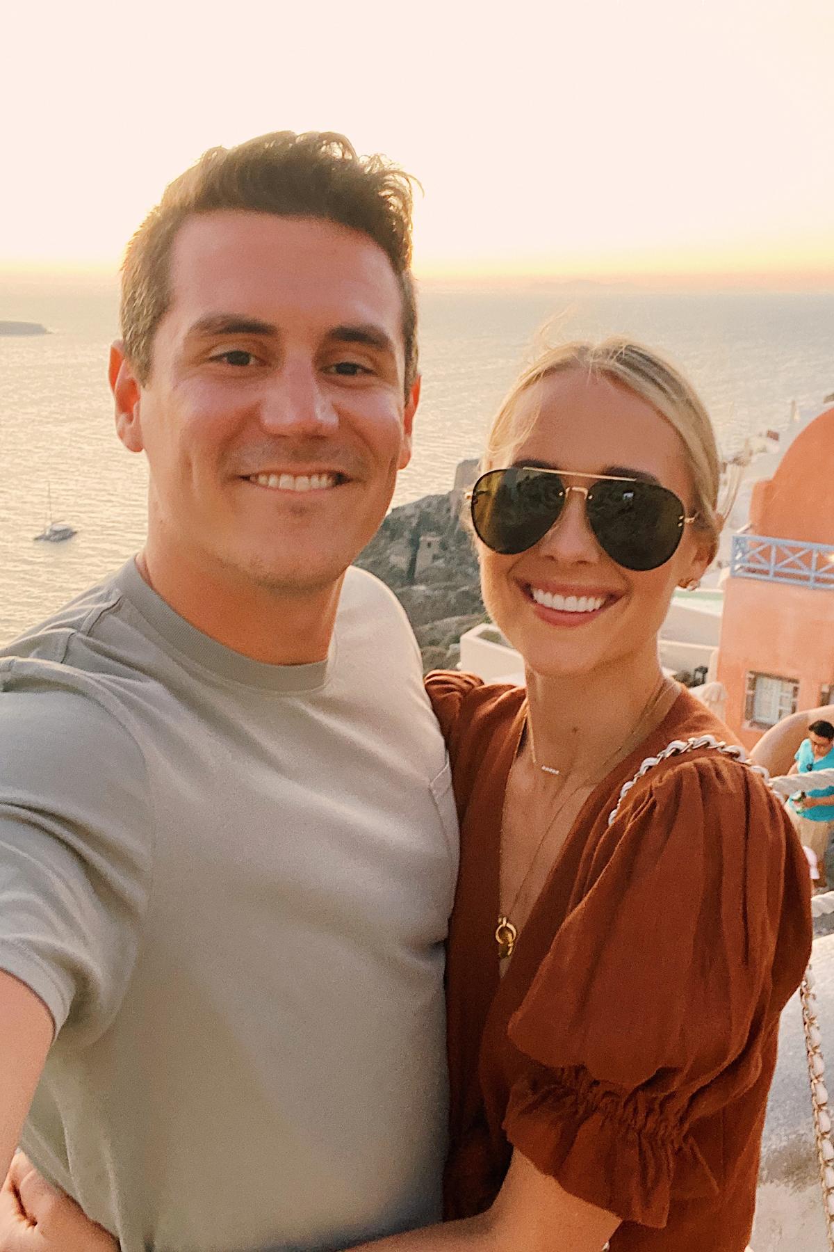 Fashion Jackson and Husband in Greece