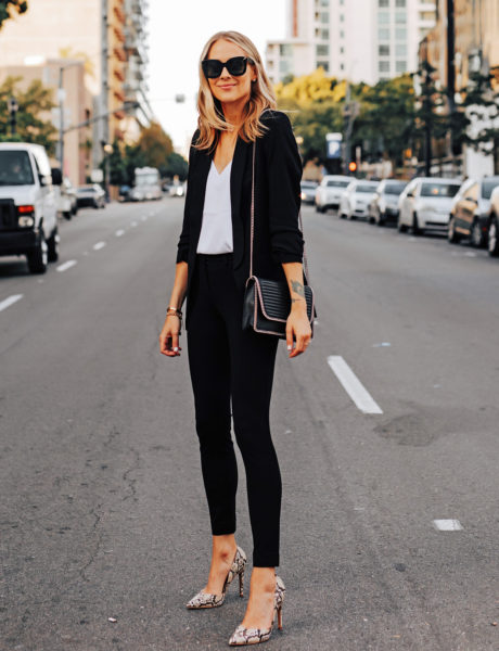 A Subtle Way to Wear Animal Print at the Office