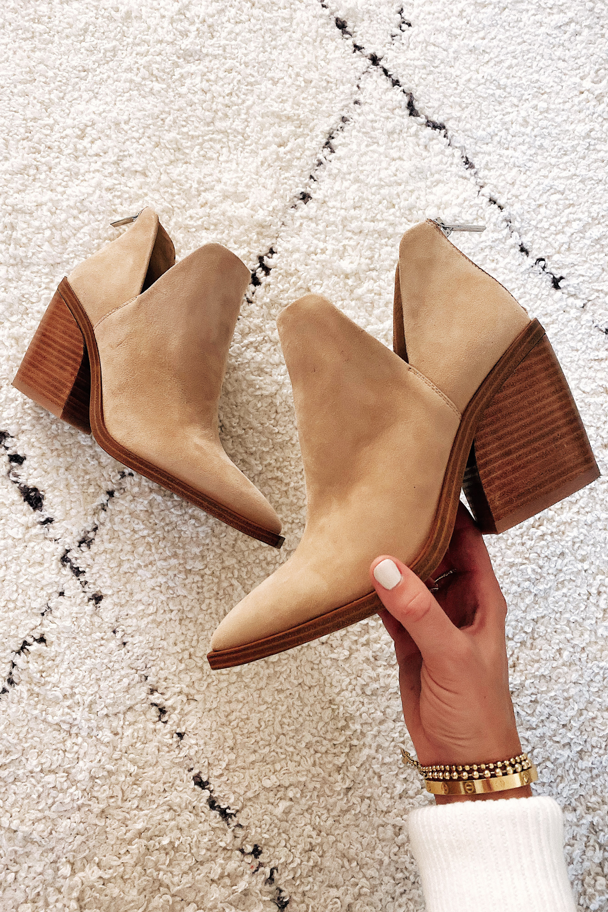 Vince Camuto Gigietta Booties Tan Suede Booties Fashion Jackson Fall Booties