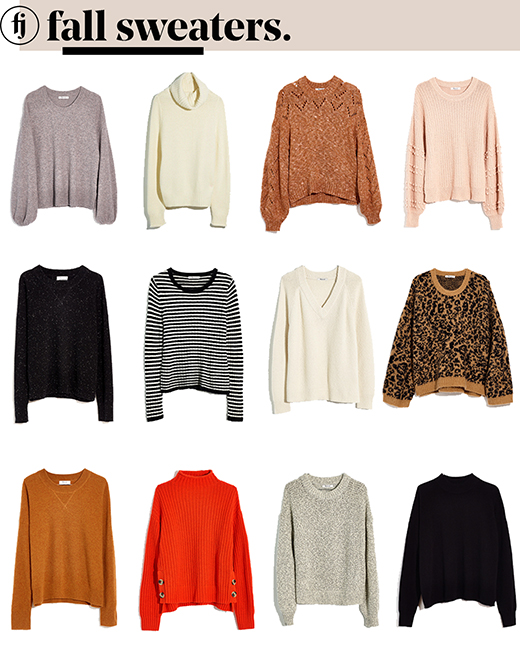 fall sweaters small