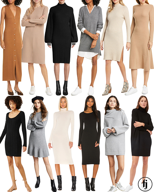 sweater dresses small