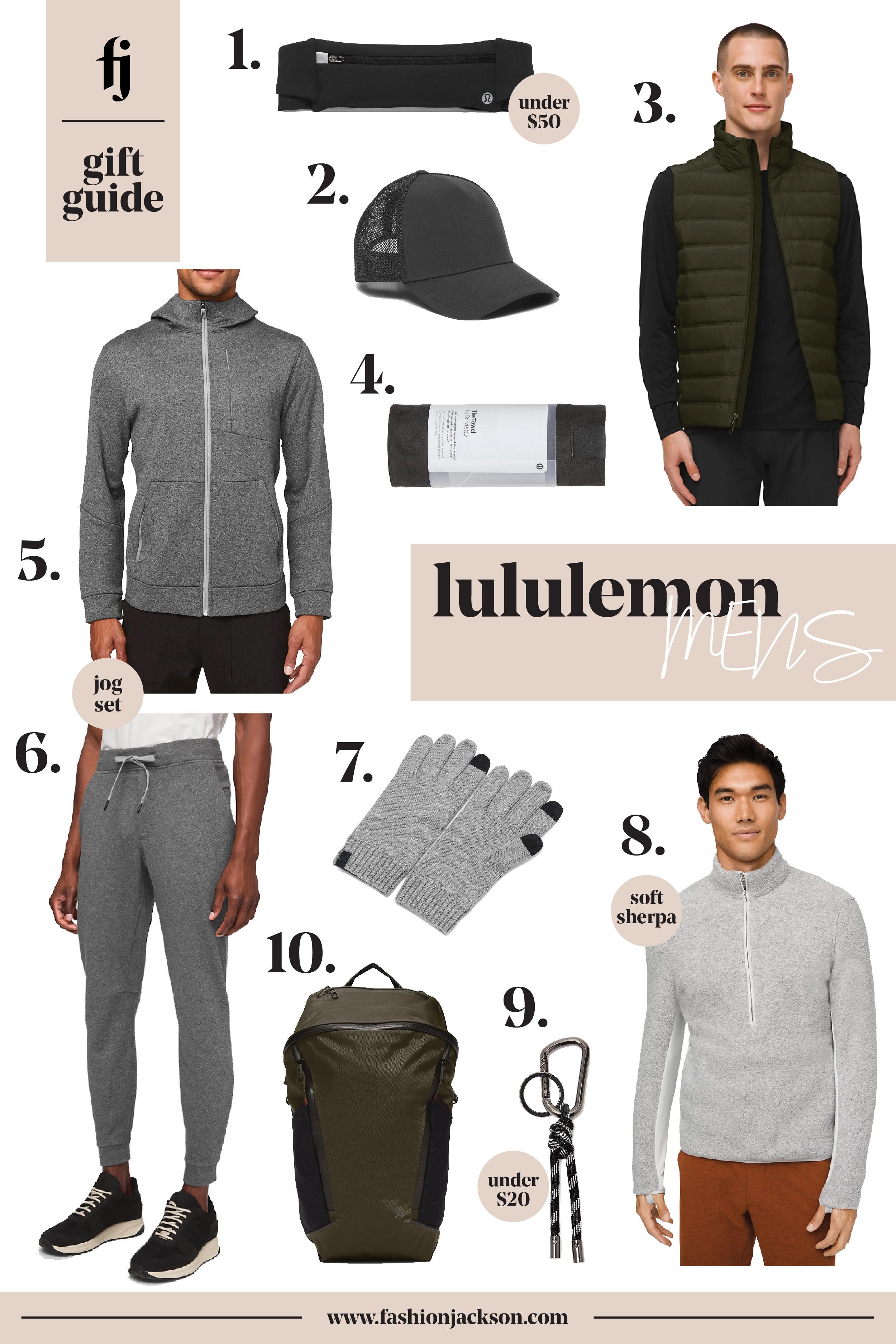 Fashion Jackson lululemon Mens Gift Guide